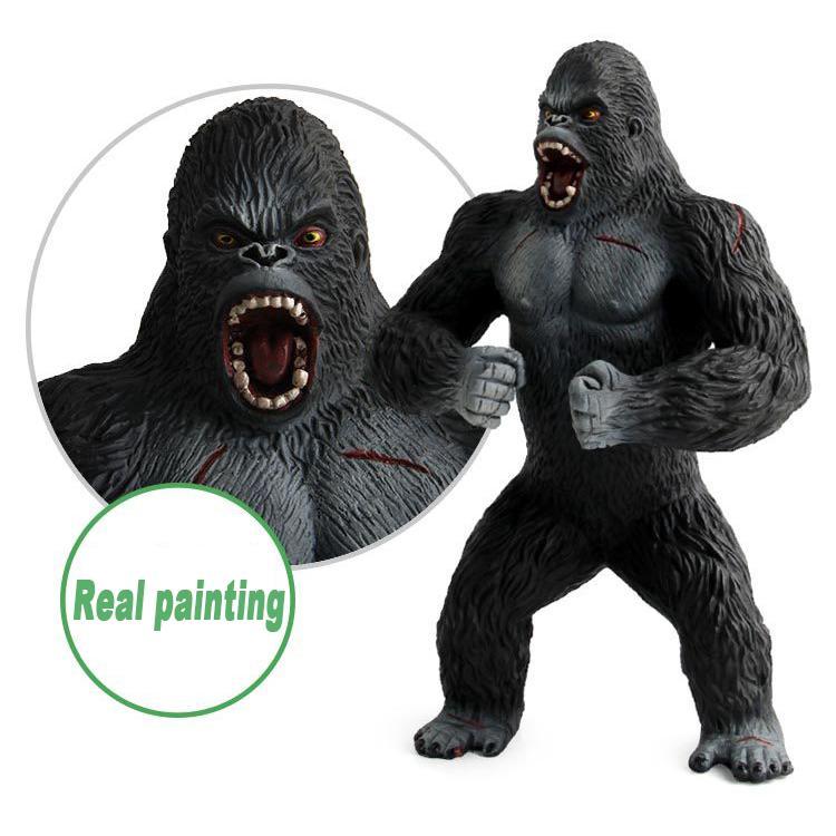 "7.2/"" King Kong Skull Island Action Gorilla PVC Figure House Decor Collection"