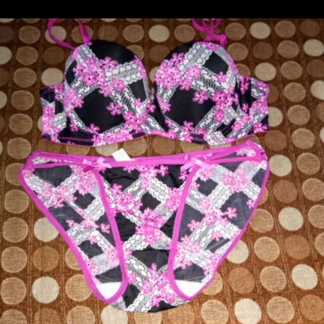 d611db9cde2 Terno Bra and Panty | Shopee Philippines