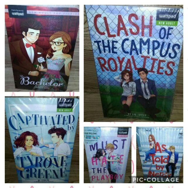 Brandnew Wattpad Books
