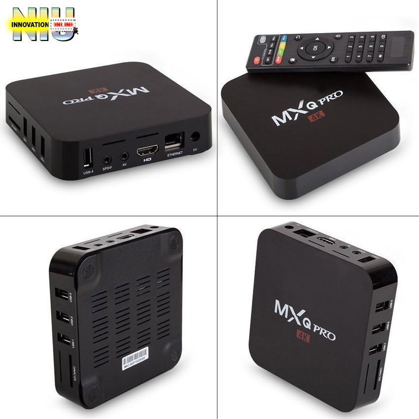 MXQ PRO 4K OTT TV BOX Android 6 0 (Black)   Shopee Philippines
