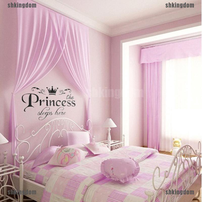 Diy Princess Wall Stickers Art Baby Girls Room Bedroom Decor Shopee Philippines