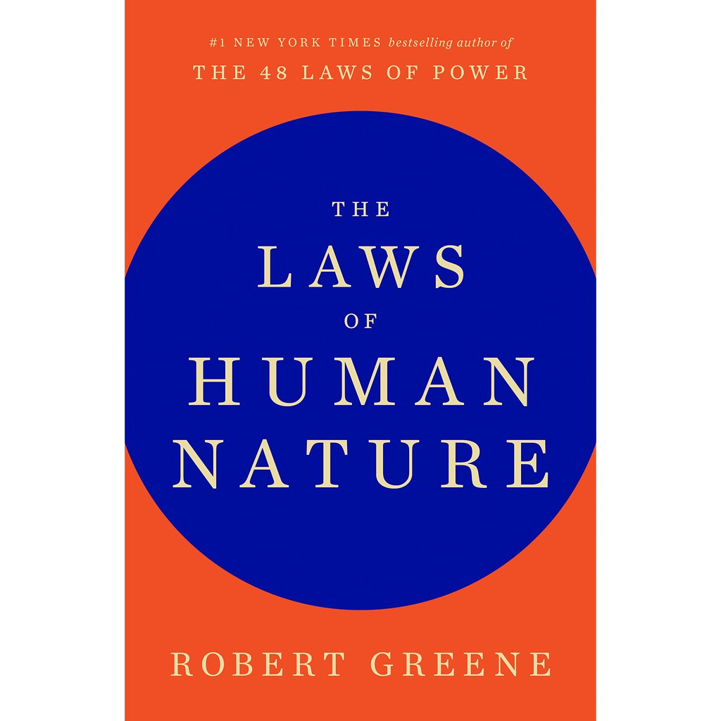 The Laws Of Human Nature By Robert Greene Motivational Management Leadership Book Paperback Shopee Philippines