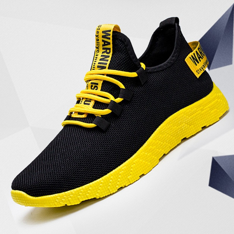 Mens Running Sneakers Trends Comfortable Sports Male Ultra Light Walking Shoes