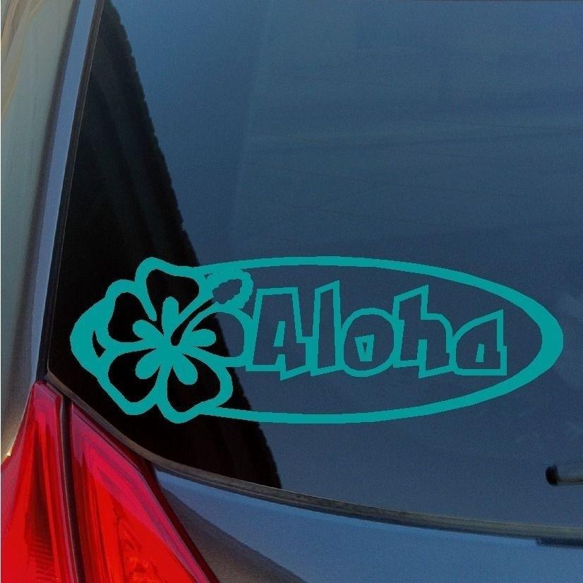 e8cabe92d Aloha Hibiscus vinyl sticker decal Maui Oahu Kauai Hawaiian   Shopee  Philippines