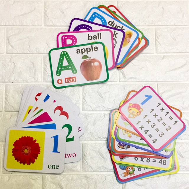 EDUCATIONAL FLASHCARDS FOR TODDLERS AND KIDS