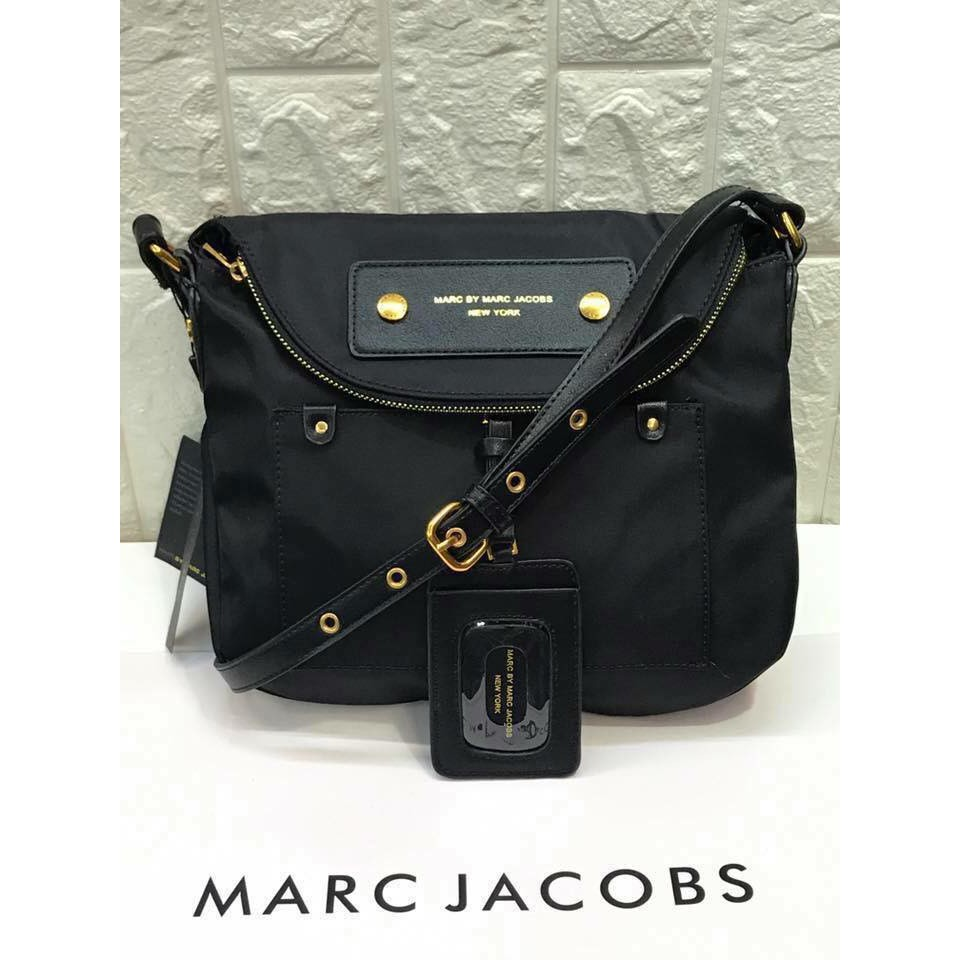 e4d4846d16 M•J SLING BAG MARC by Marc Jacobs Preppy Nylon Natasha Bag | Shopee  Philippines
