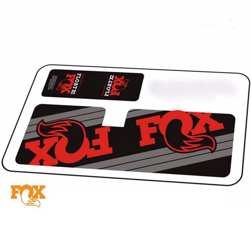 """choose 3 colors 2 pcs Fox Racing decal 2/"""" logo Foxhead sticker Mountain Bike"""