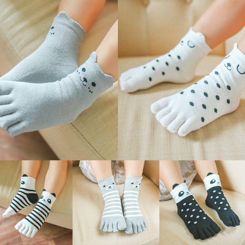 Baby Boys Girls Anti Slip Socks 12 Pairs Cotton Cute Trainning Slipper Grip Toddler Children Fun Socks Soft Breathable Comfortable 2-3 years