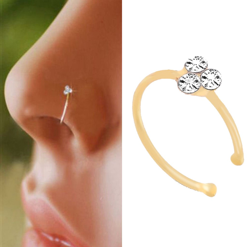 New 1pc Fashion Decoration Nose Rings Fashion For Women Drop Nose