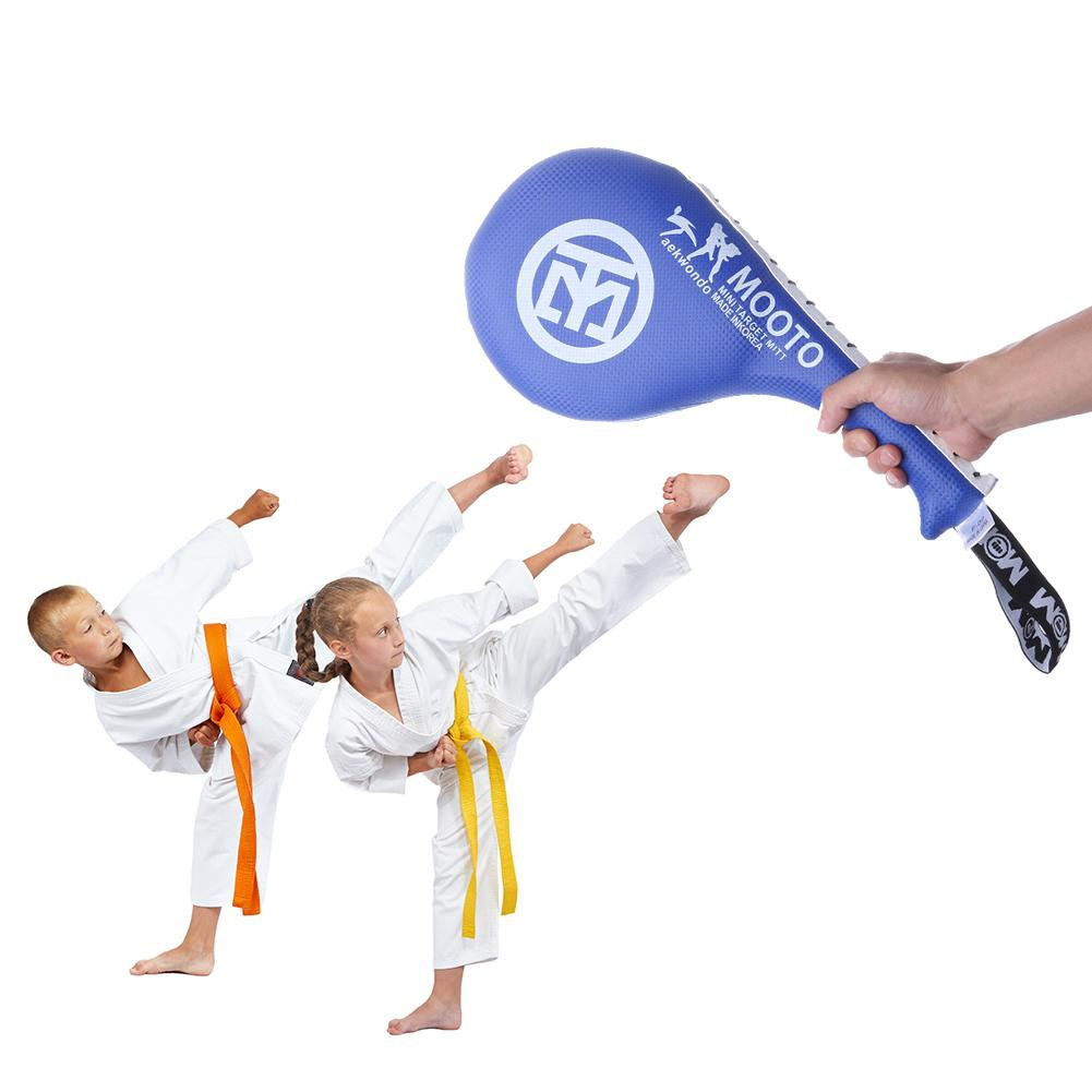 Adult Durable Taekwondo Sparring PU Rebound Sponge Foot Target for Sanda