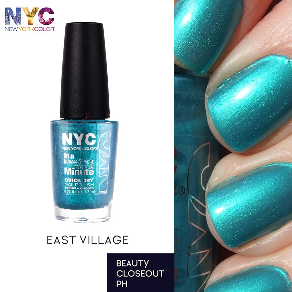 NYC Nail Polish Quick Dry - East Village 206