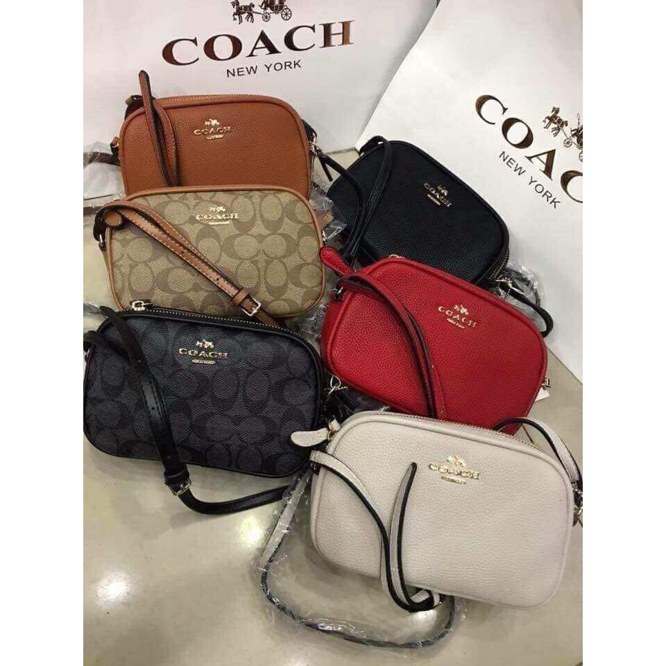 fa5897544ce9 coach mini sling bag