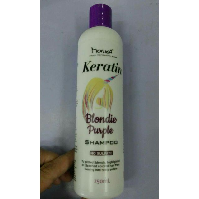 Monea Keratin blondie purple shampoo 250ml