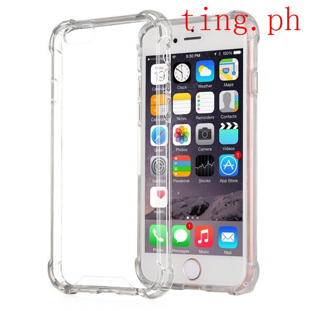 separation shoes 36861 bbc8a Clear shockproof case iPhone 5 5s se 6 6 Plus 7 8 x 4S