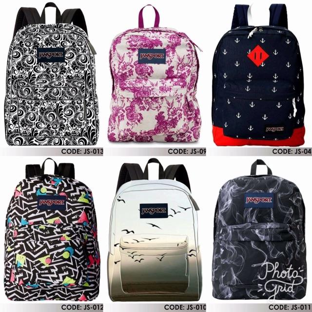 Jansport Backpack Superbreak Customized Print -BEST SELLER❤️