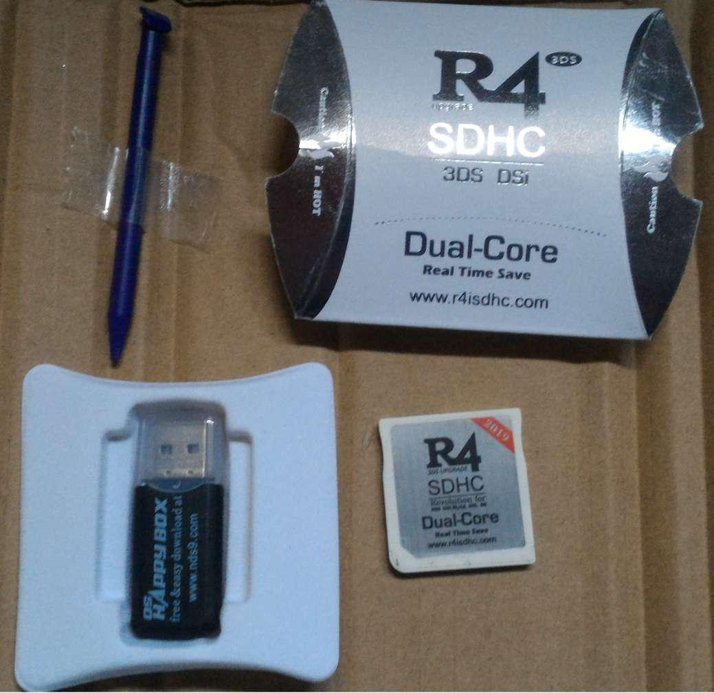 NEW R4 SDHC Dual-Core R4 NINTENDO GAME DS DSI 2DS 3DS