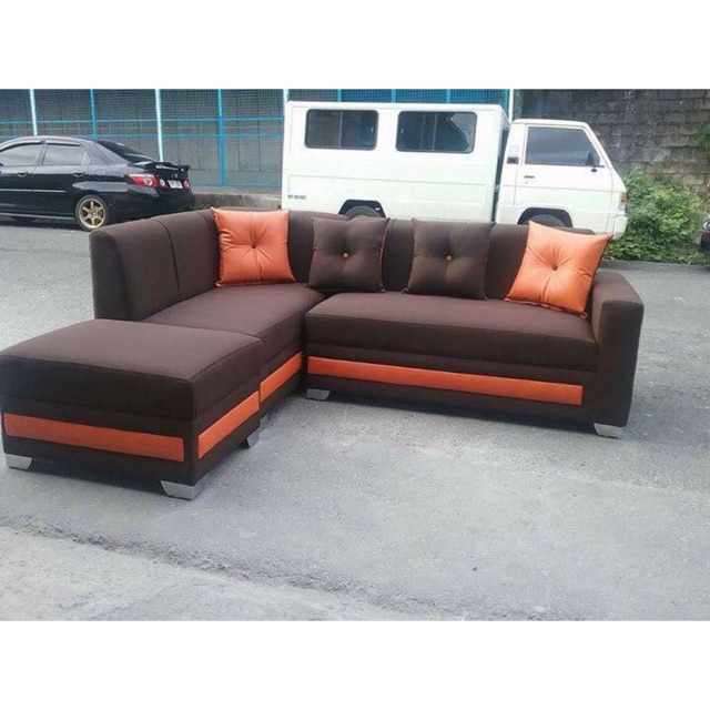 L Shape Uratex Sofa Set Sho