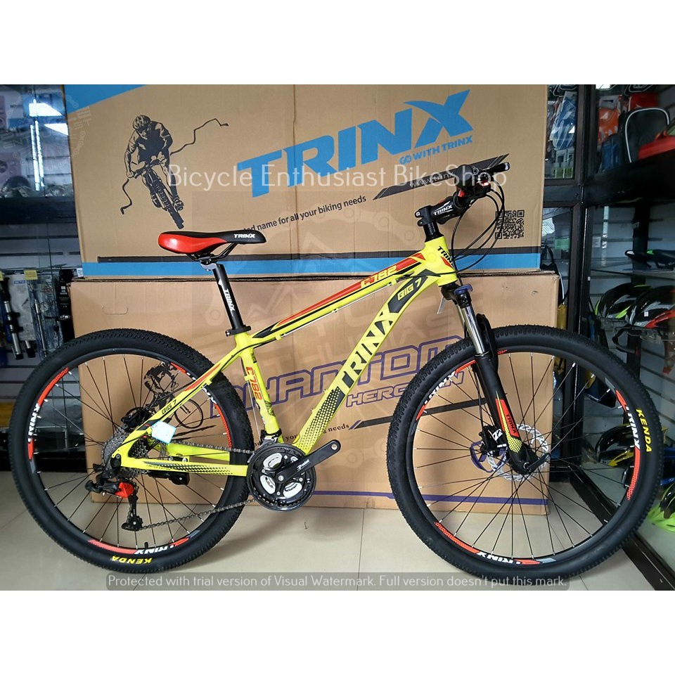 Latest Trinx C782 27 5 Mountain Bike Mtb Limited Edtition Shopee