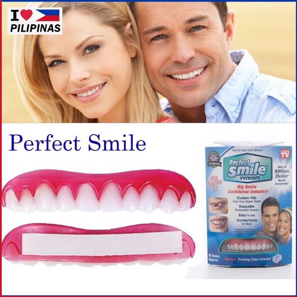 LP Teeth Perfect Instant Smile Fit False Dental | Shopee