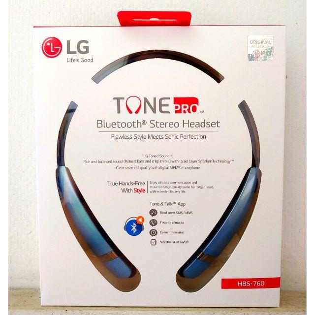 LG TONE PRO BLUETOOTH STEREO HEADSET (HBS - 760)