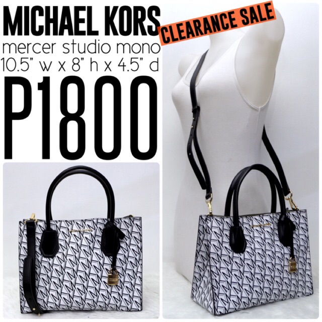 cd9ec63c1e50 new & authentic MICHAEL KORS mercer studio | Shopee Philippines