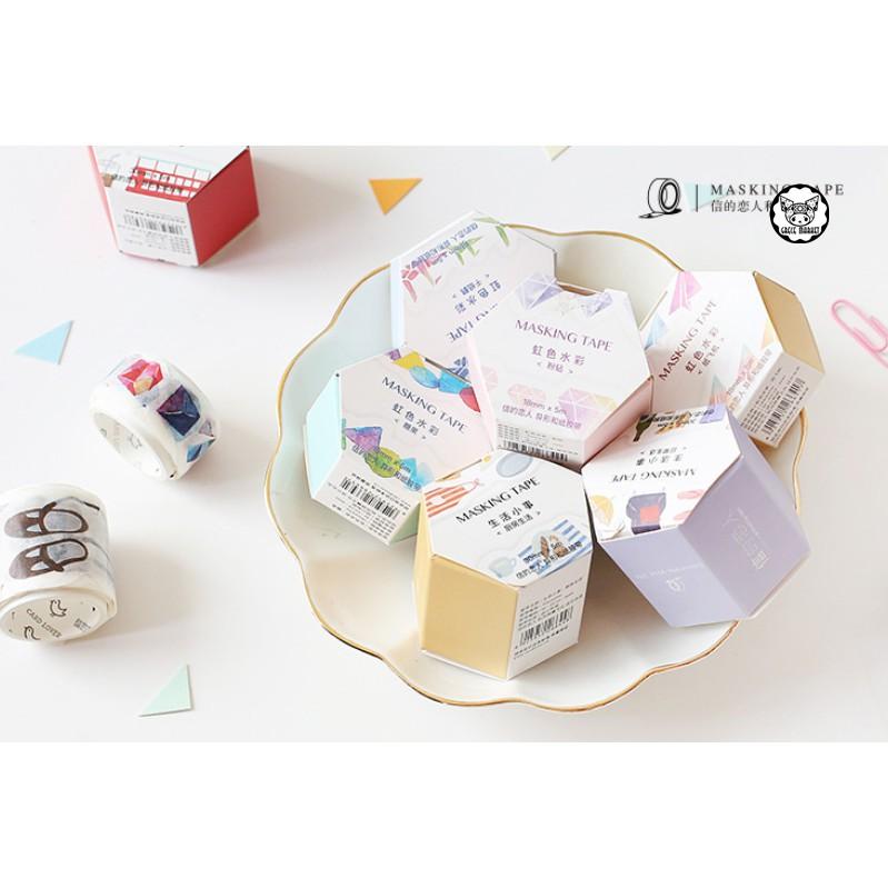 Japan watercolor design washi tape