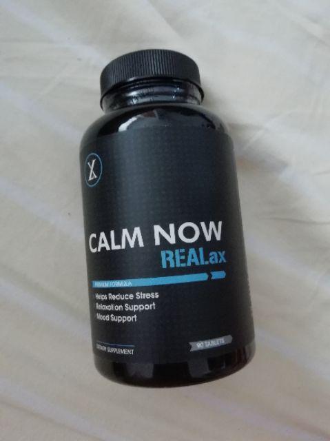 Calm Now ReaLax - Super Stress B - Complex Vitamins - Reduce