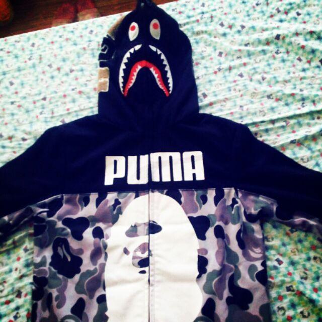 niskie ceny moda tak tanio Bape Shark x Puma