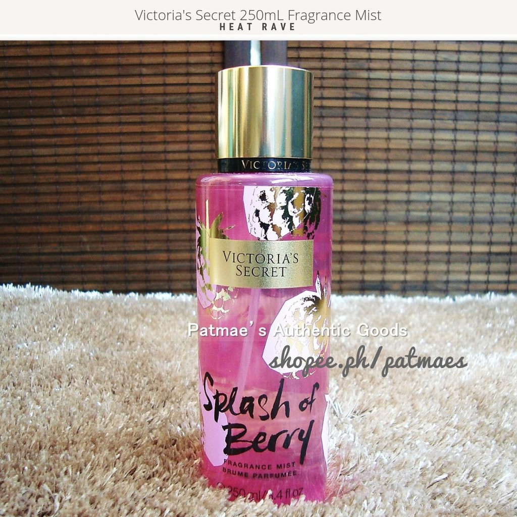 58d55b97f16 Victoria s Secret 250mL Fragrance Mist Splash of Berry