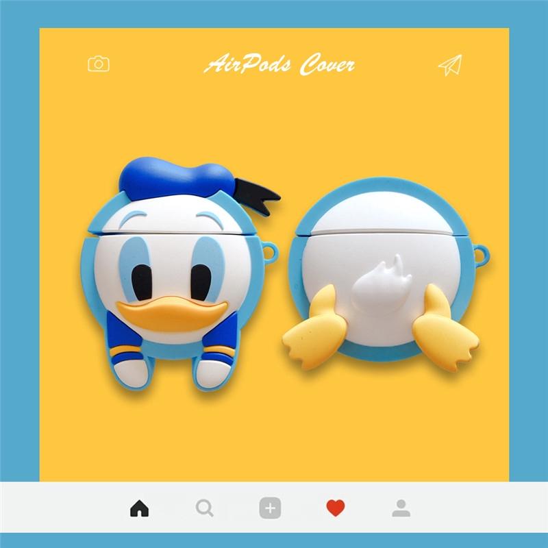 Cartoon Donald Duck Silicone Cases