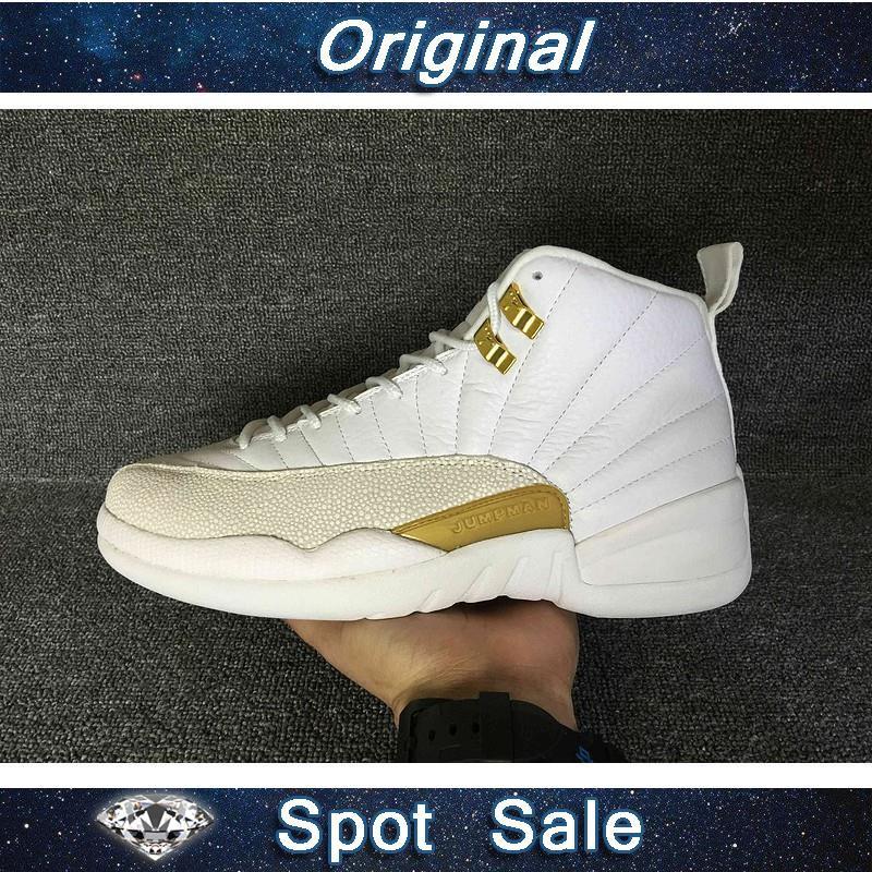 375d22d5 READY STOCK NIKE Air Jordan 12 Retro Sports Basketball Shoes ...