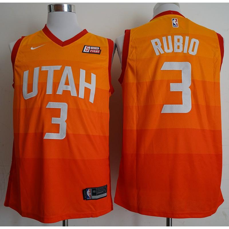 efed26290ea zhaoyin Nike Utah Jazz Ricky Rubio NBA Jersey  3 new