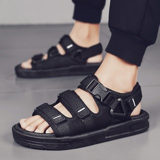 summer new trend sandals men's velcro youth breathable