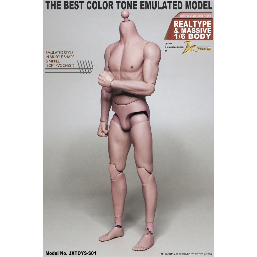 NEW 2014 Version Male Body Series with Highly Cost-Effective Edge 1//6 MX02-A