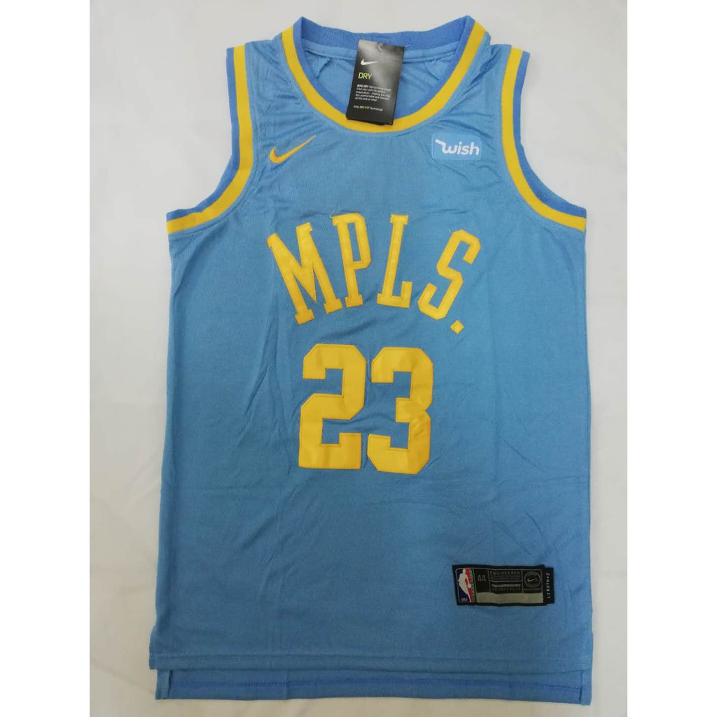 56f7dff91 MPLS Los Angeles Lakers Kyle Kuzma  0 Classic Jersey