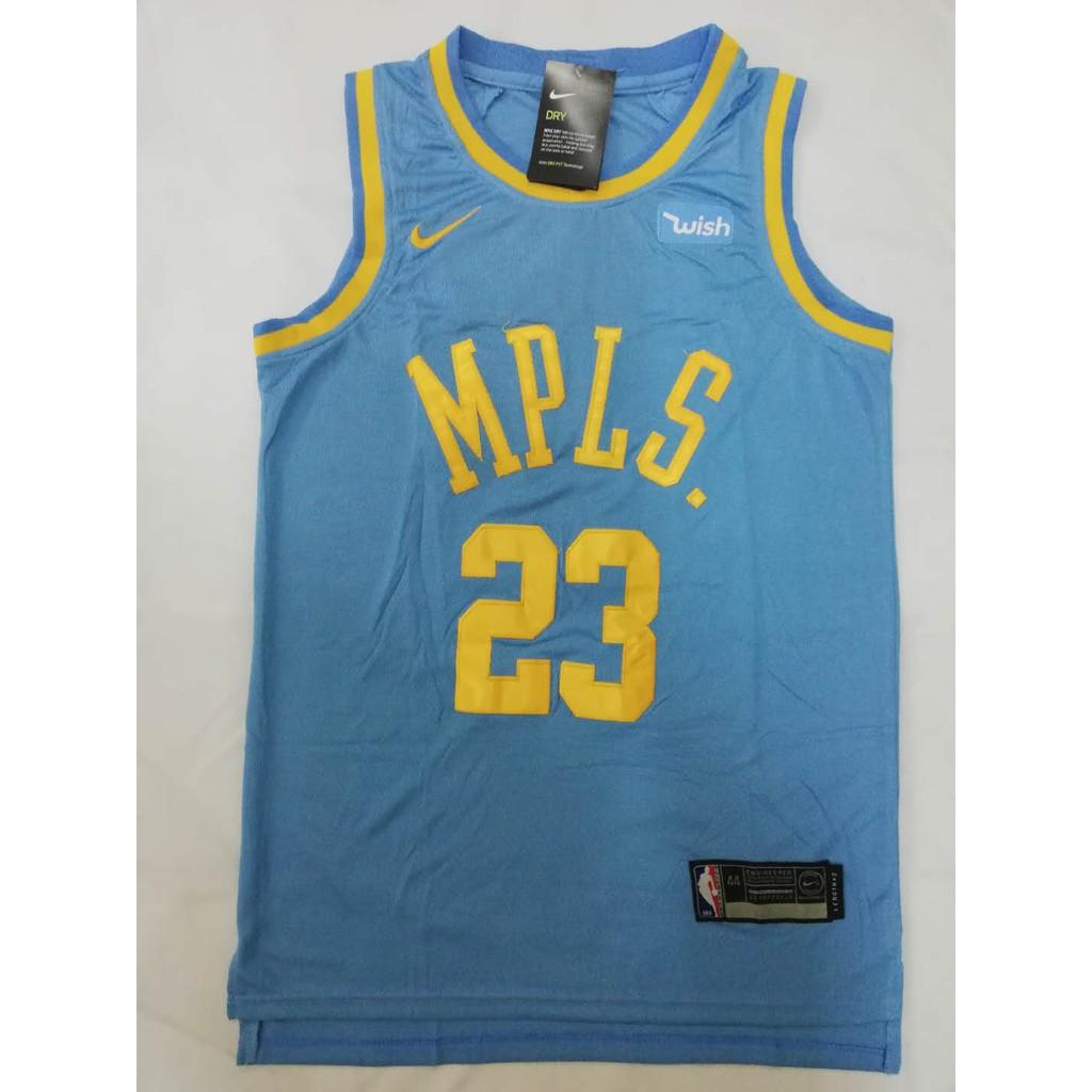 7bc372352 NBA MPLS Lakers 23 Lebron James Swingman Jersey