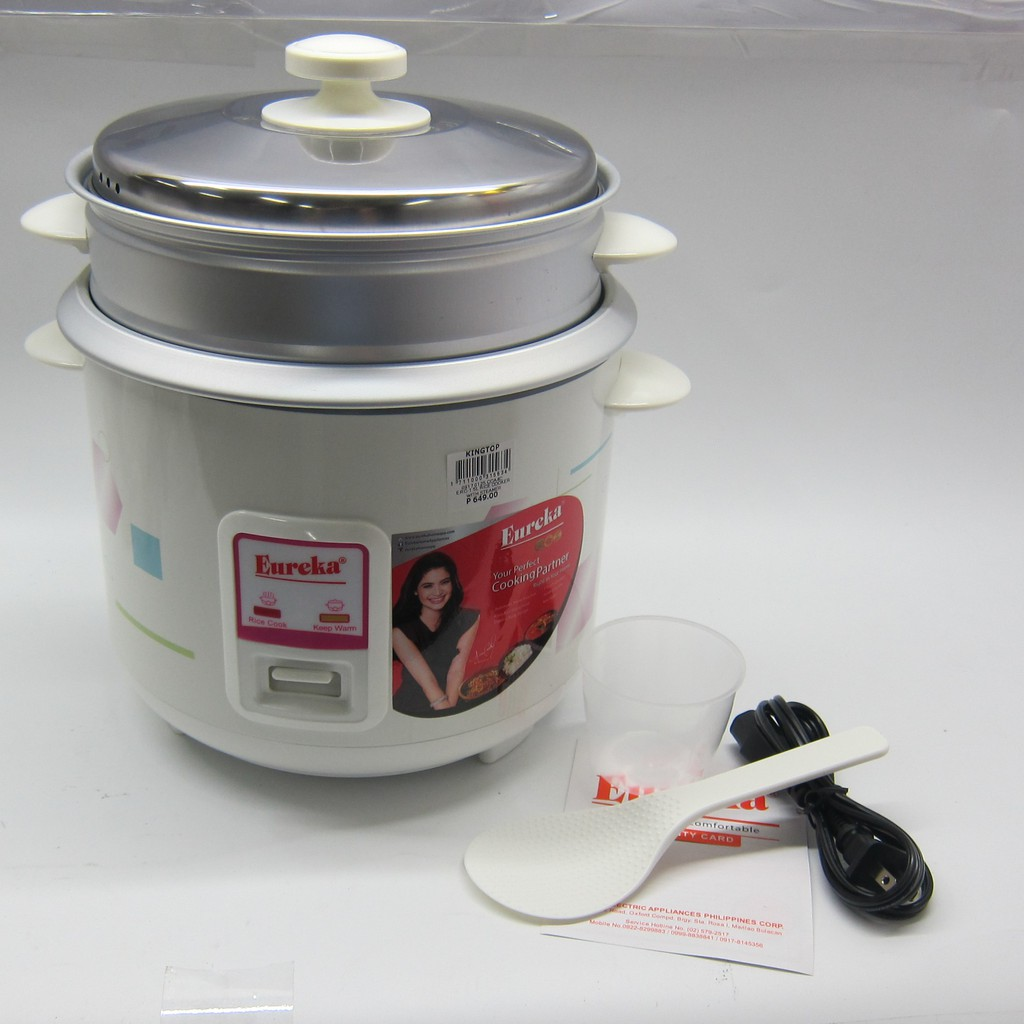 Eureka Rice Cooker 1 5l With Steamer