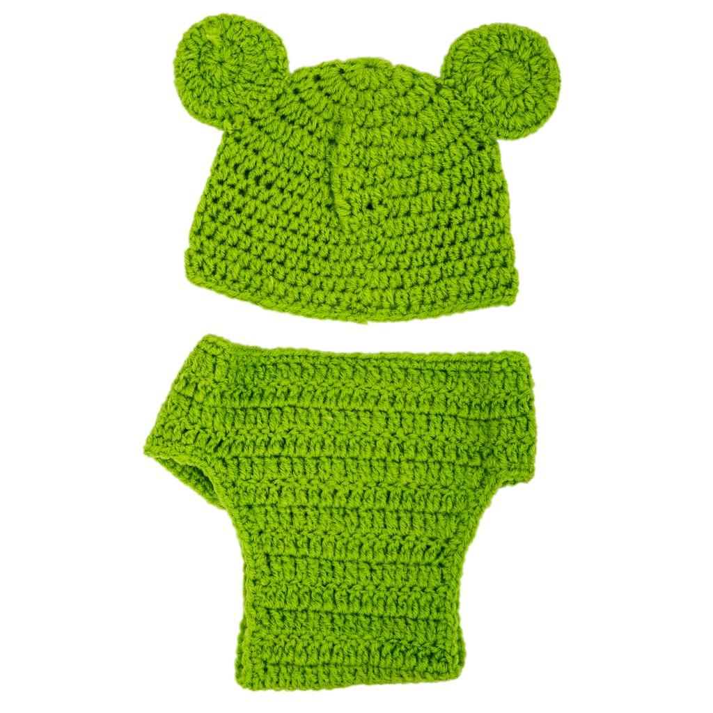 Baby Infant Newborn Handmade Crochet Knit Cap Lion Hat Costume Photograph Prop