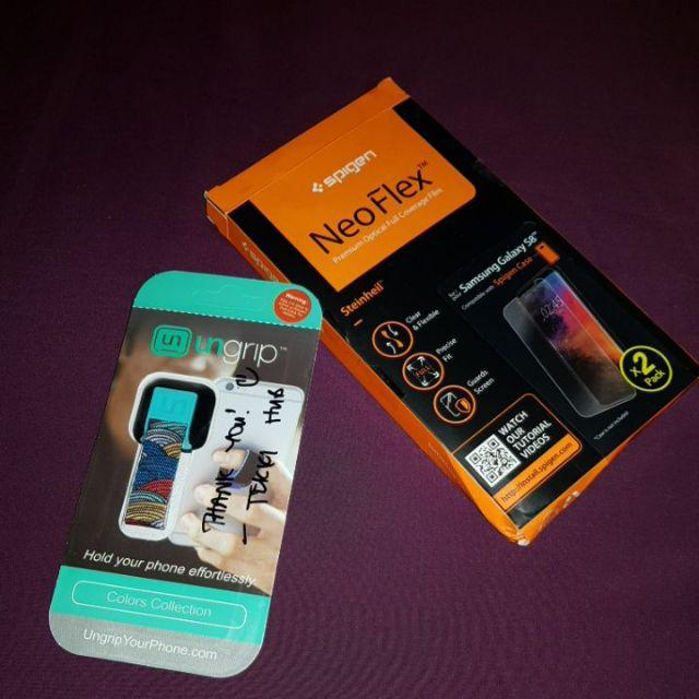 more photos 32f13 89fce Samsung Galaxy S8/S8 Plus Spigen Neo Flex Full Coverage Film ...