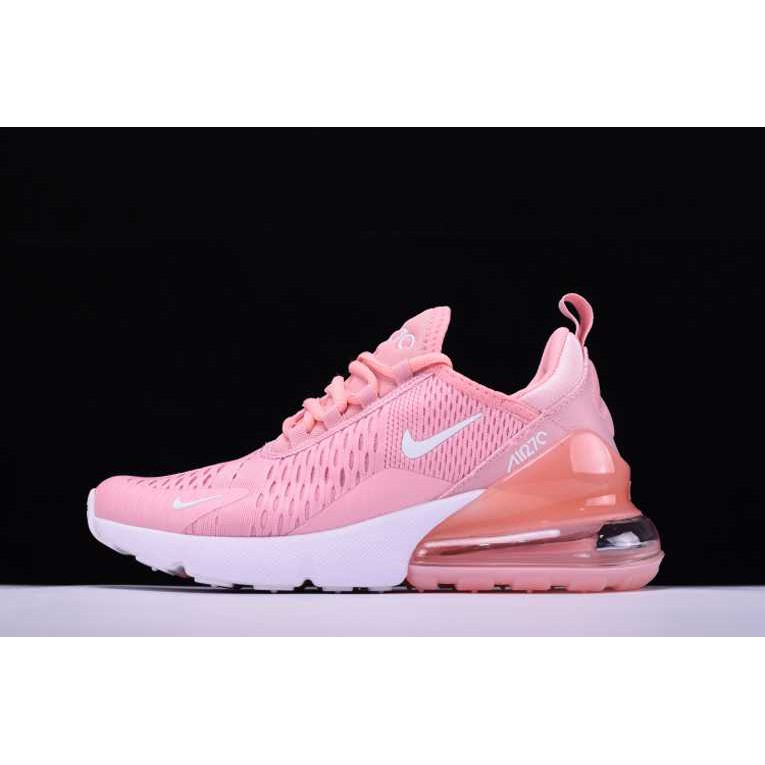 Nike Women's Air Max 270 Breathable Running Shoes Light Pink