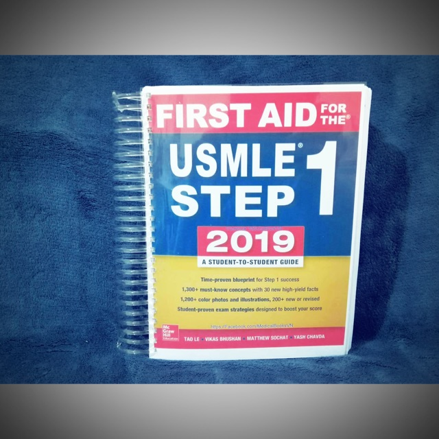 USMLE FIRST AID 2019 SHORTBOND SIZE