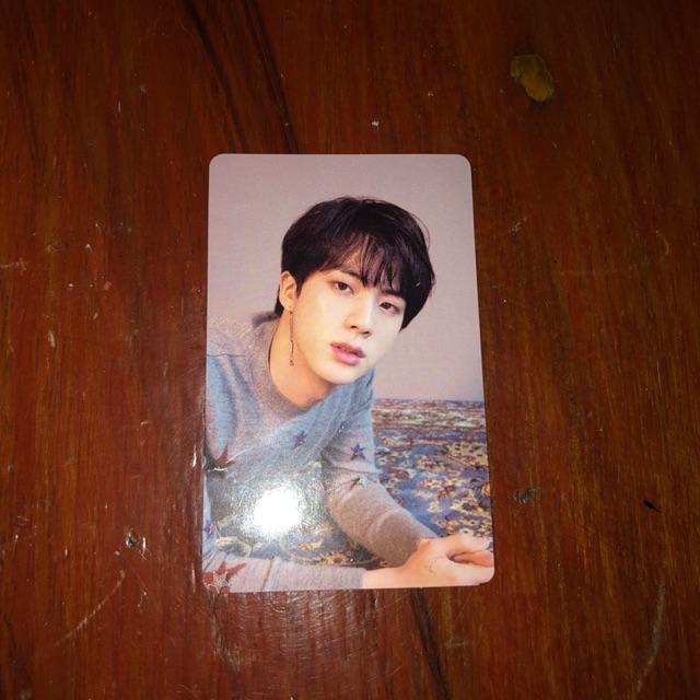 Jin Love Yourself Tear O Version Photocard