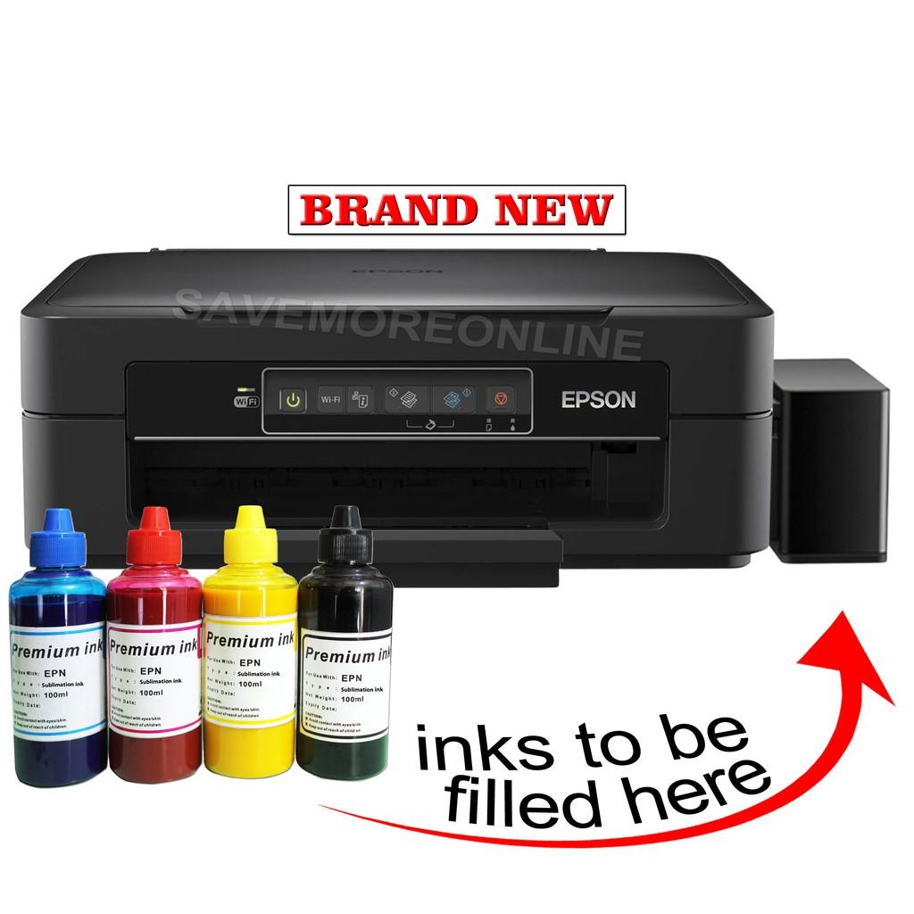 Epson XP-245 Printer w/ CiSS & Sublimation inks