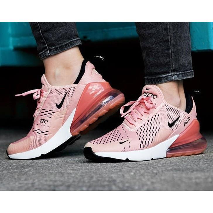 Original Nike Air Max 270 Women Sports Running Shoes Pink