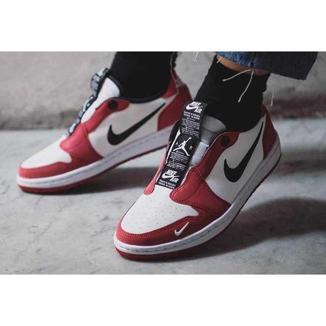 【youyas.ph】Jordan 1 Retro Low Slip Chicago 3M Chicago Red White BQ8462-601