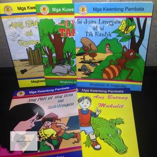 ✅ BILINGUAL Illustrated Children's Story Books (Eng-Fil