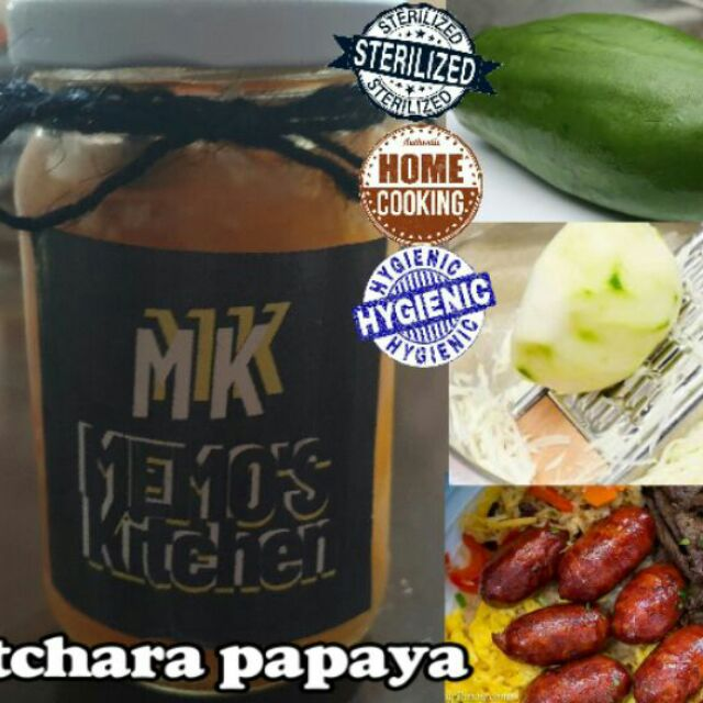 Atchara Espesyal Of Memo S Kitchen Shopee Philippines