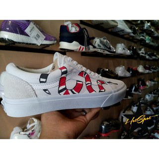 ... Vans Old Skool Gucci Snake White Customized Unisex. like  30 651700b47