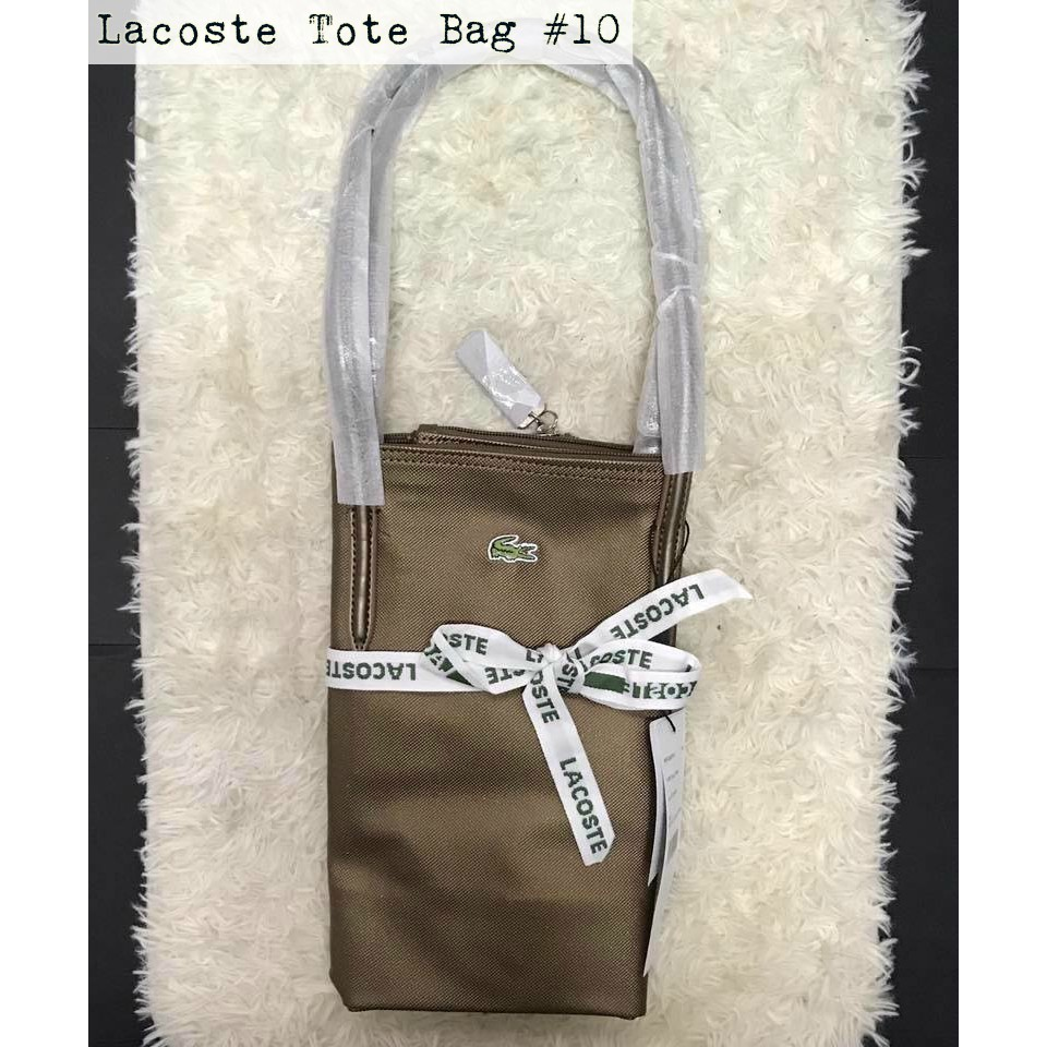 d9992f42095 Authentic Lacoste Tote Bag Medium Size Complete Inclusions | Shopee  Philippines