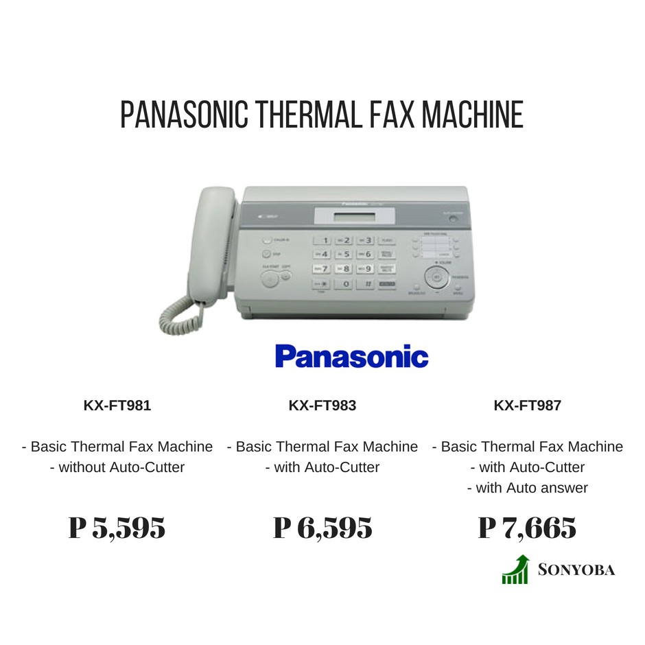 Panasonic Plain Paper Fax Machine Kx Fp711 Shopee Philippines Wiring Devices